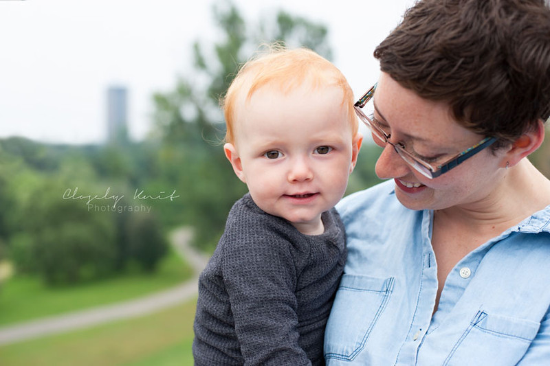 One Year Old Family Session